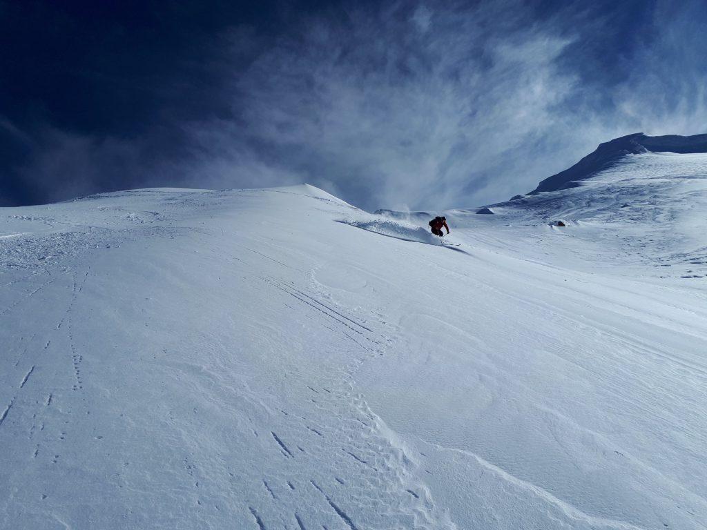 Mt Ruapehu skiing in New Zealand.