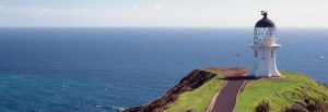 Cape Reinga, at the very top of the North Island.