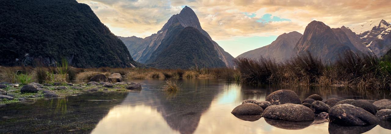 Fjiordland, New Zealand.