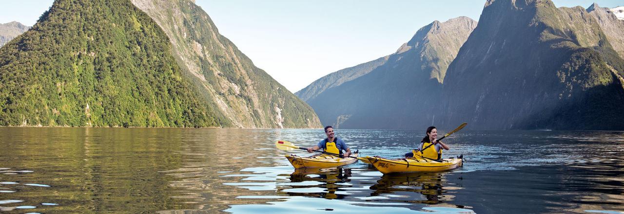 Milford Sound kayaking.