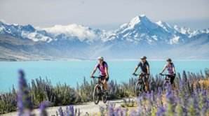 Mt Cook view.