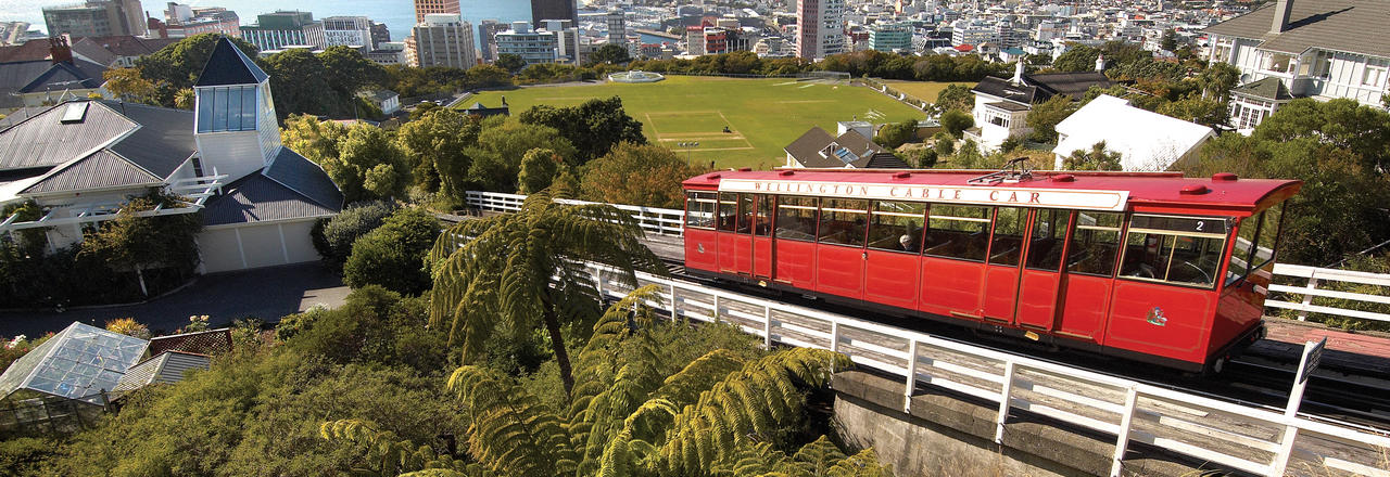 Wellington, Kelburn Cable Car