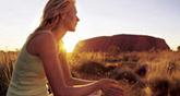 Australia Uluru by camper.