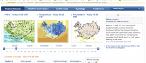 Weather in Iceland Information Pages
