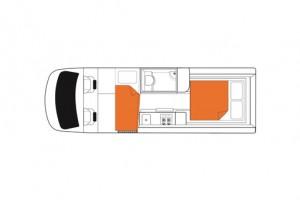 2-3 Berth Venturer Plus Campervan from Britz