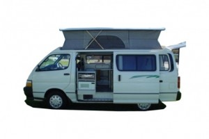 2 berth pop-top camper Campervan from Kangaroo