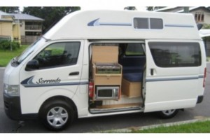 23 berth Hi-top camper Campervan from Kangaroo