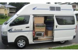 23 berth Hi-top camper Campervan from Kangaroo