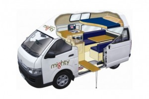 3 Berth Highball Campervan from Mighty