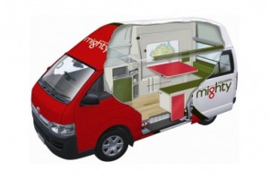 3 Berth Jackpot Campervan from Mighty