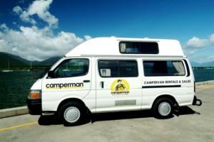3 Berth Jade Hightop (All Inclusive Rate) Campervan from Camperman