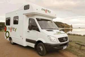 4 Berth Doubleup Campervan from Mighty
