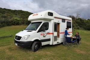 4 Berth - Explorer Campervan from Britz