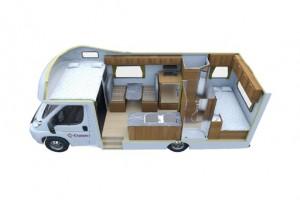 4 Berth Seeker Campervan from Cruisin