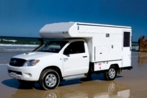 4WD Camper Campervan from Real