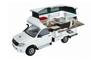 4WD Camper Campervan from Real Value