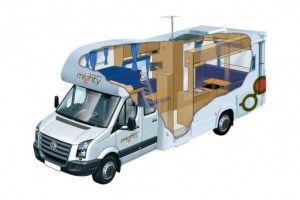 6 Berth Big Six Campervan from Mighty