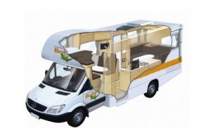 6 Berth - Frontier Campervan from Britz