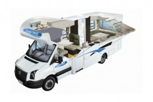 6 Berth Motorhome Campervan from Cheapa