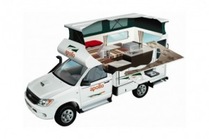 Adventure Camper 4x4Campervan from Apollo