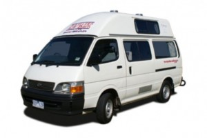 Budget Campers 2-3 berth - Campervan from Travellers