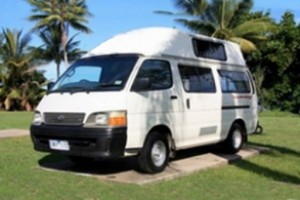 Budget Campers are suitable for up to 3 passengers