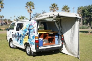 Budgie Van Campervan from Travellers