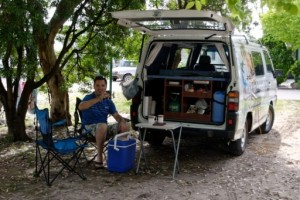 Budgie Van is suitable for 2 people