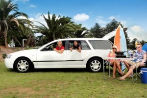 Camping Stationwagon Campervan from Comet
