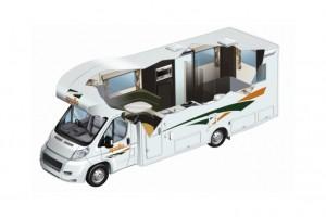 Euro Slider 4 Berth Campervan from Apollo