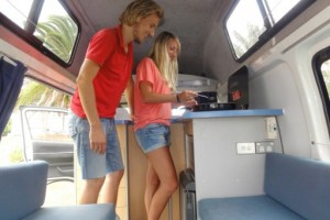 Kuga - 2 or 3 berth Campervan from Comet