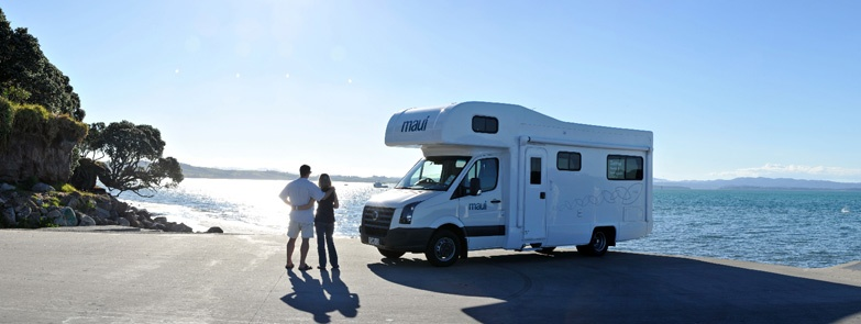 Maui 6-berth free camping.