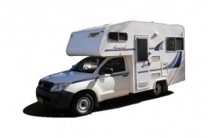 Sherwood Budget 4 berth Micro Campervan from Kangaroo