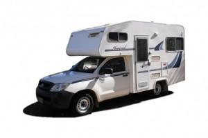 Sherwood Budget 4 berth Micro Campervan from Kangaroo