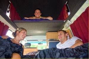 The Jesse Family 5 Hi Top (All Inclusive Rate) Campervan from Camperman