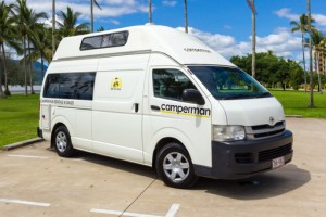 The Paradise Shower & Toilet (All Inclusive Rate) Campervan from Camperman