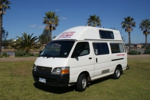 Toyota Hiace Hi-top Campervan 2-3 Berth - (SHMR) Campervan from Travellers