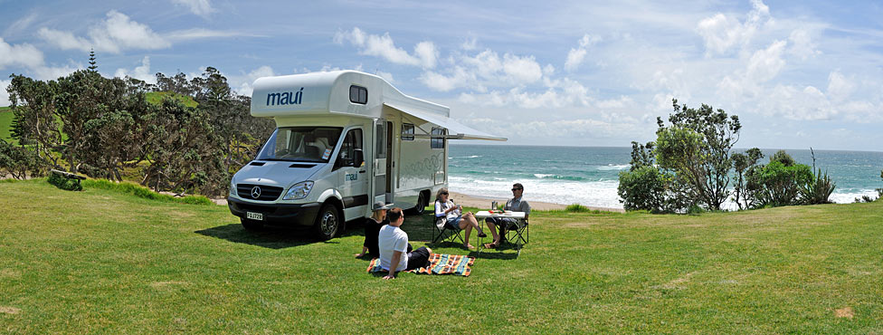 Campervan and Motorhome Hire in New Zealand.