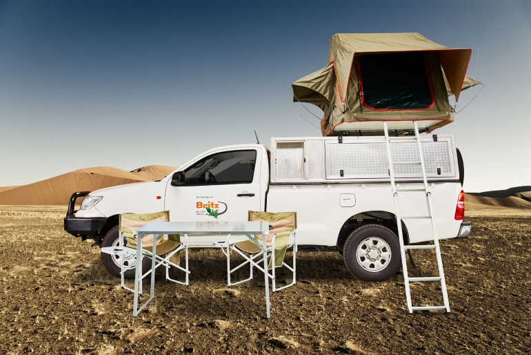 4x4_rental_with_tent_Kasane_Botswana