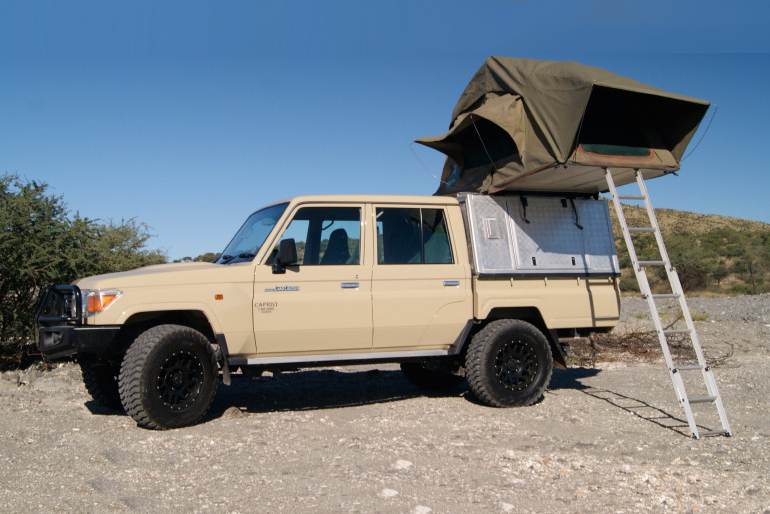 Land_cruiser_camper_rental_kasane_Botswana_sleeps_2
