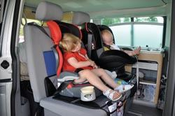 Campervan holidays with young children
