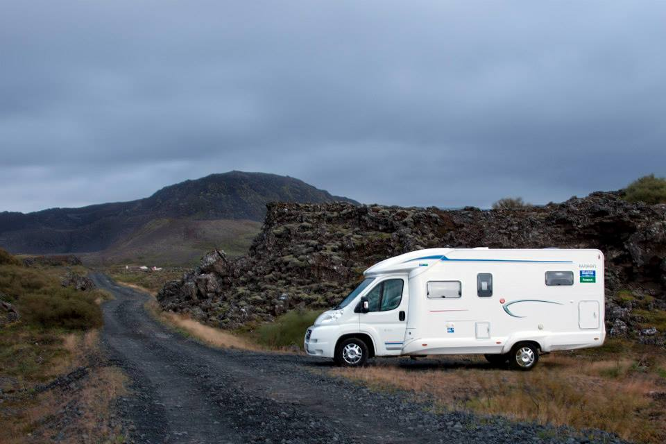 Free camping in Iceland