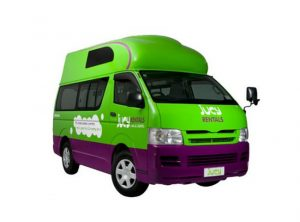 Jucy New Zealand 4 berth to rent.