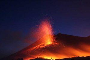 Volcano in Iceland.