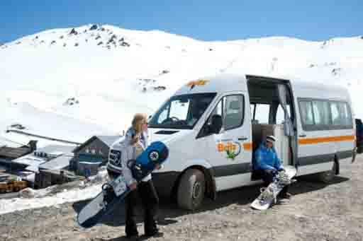 Take a camper skiing or snow boarding. Perfect for staying close to the slopes.
