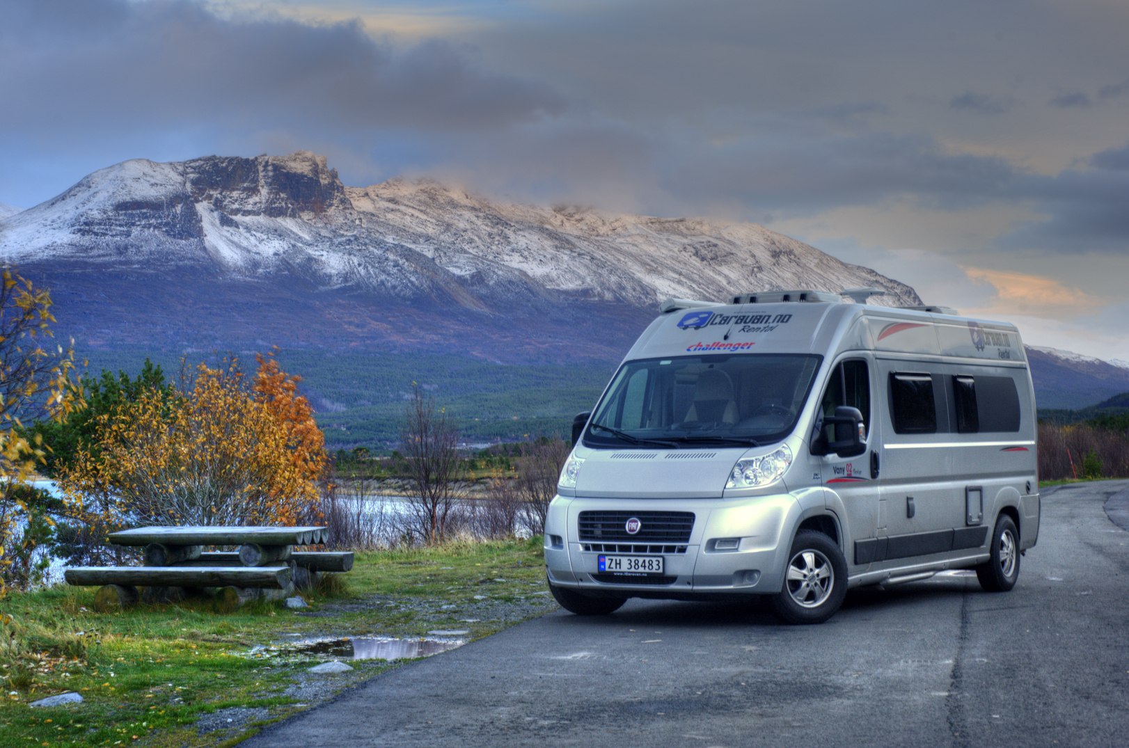 Norway Campsites for Campervan Hire