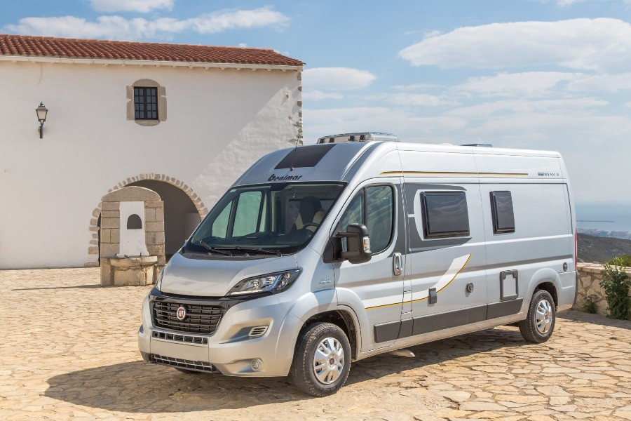 Spain 2-berth with shower and toilet. Perfect for a road trip around Spain.