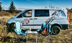 Park up in your campervan and picnic